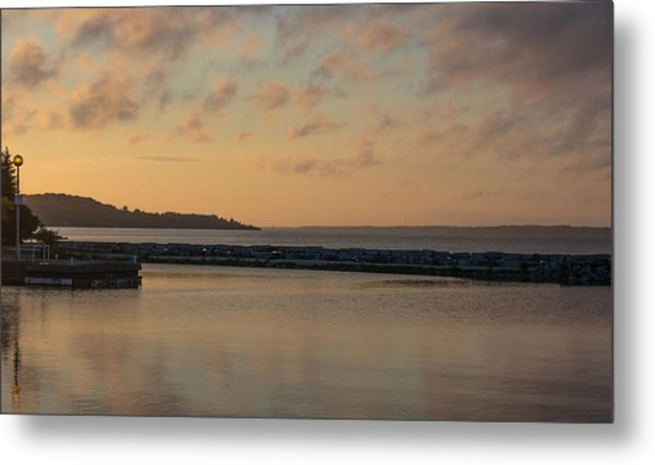 Morning Over Lake Simcoe Metal Print