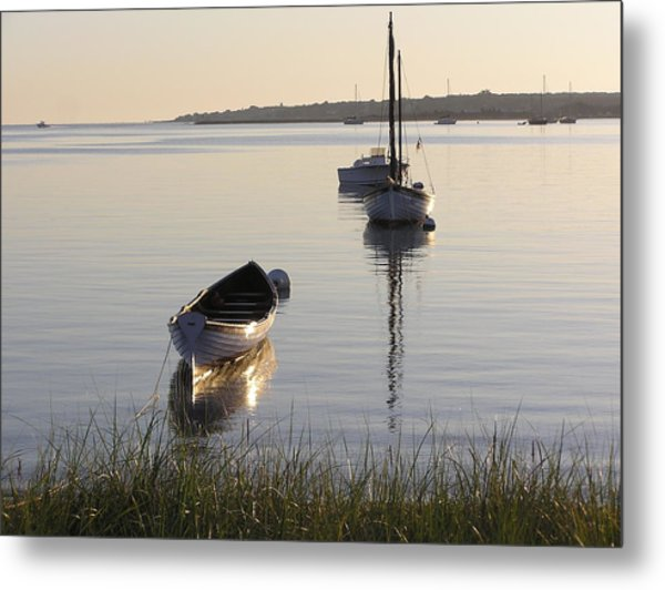 Morning Reflections Metal Print by Richard Mansfield