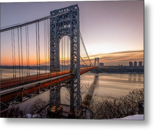 Morning Rush  Metal Print