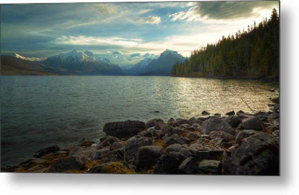 Mornings At Lake Mcdonald Metal Print by Stuart Deacon
