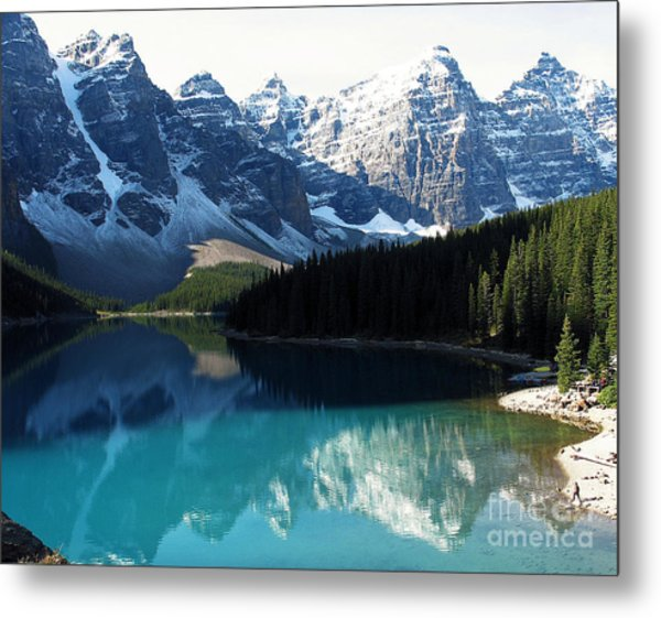 Moraine Lake Metal Print
