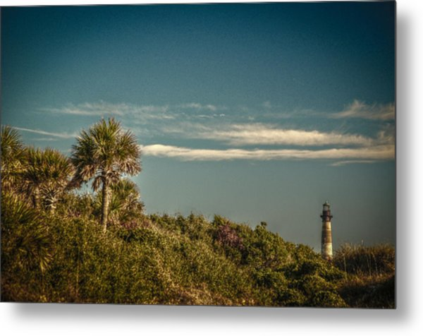 Morris Island Light Charleston Sc Metal Print