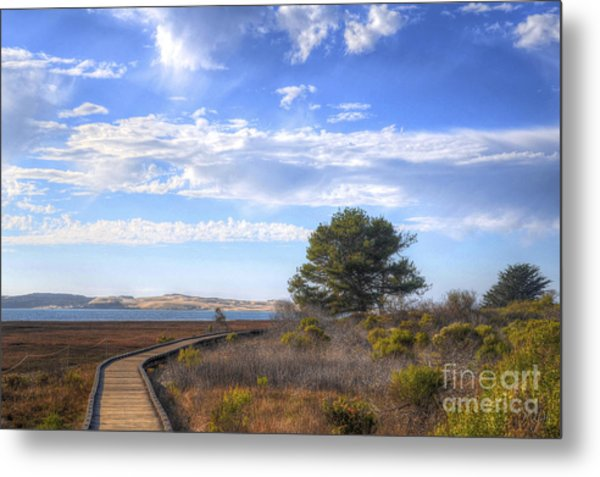 Morro Bay Boardwalk Metal Print