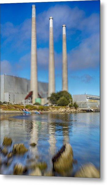 Morro Bay Power Plant Lens Baby Metal Print
