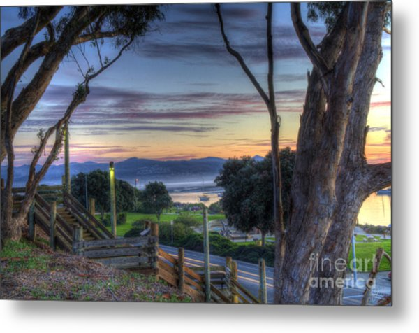 Morro Bay Vista Metal Print