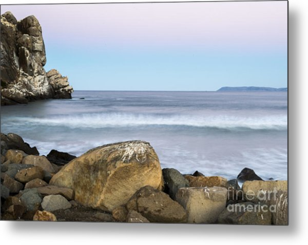 Morro Rock Morning Metal Print