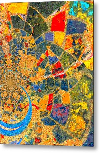 Mosaik Metal Print by Nico Bielow
