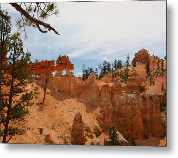 Mossey Creek Trail Arches Metal Print