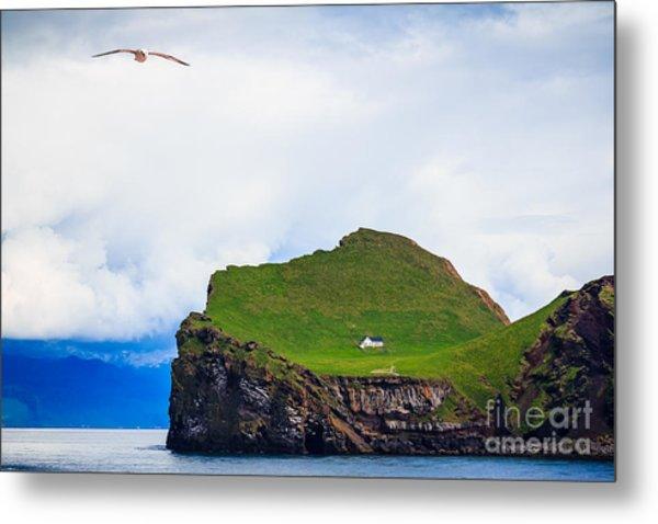Most Peaceful House In The World Metal Print