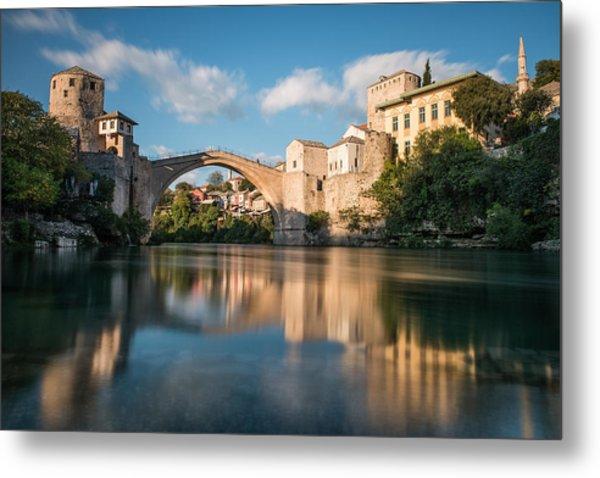 Mostar Bridge Metal Print