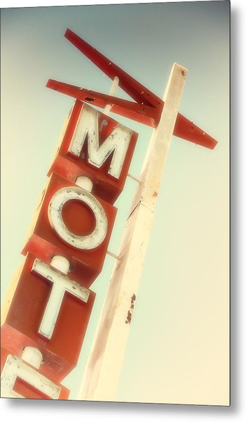 Motel El Rey Metal Print