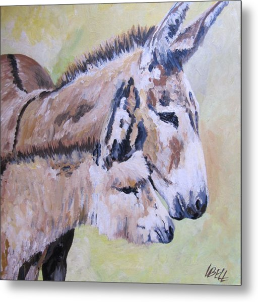 Mother And Baby Metal Print by Leonie Bell