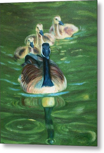 Mother Goose  Metal Print