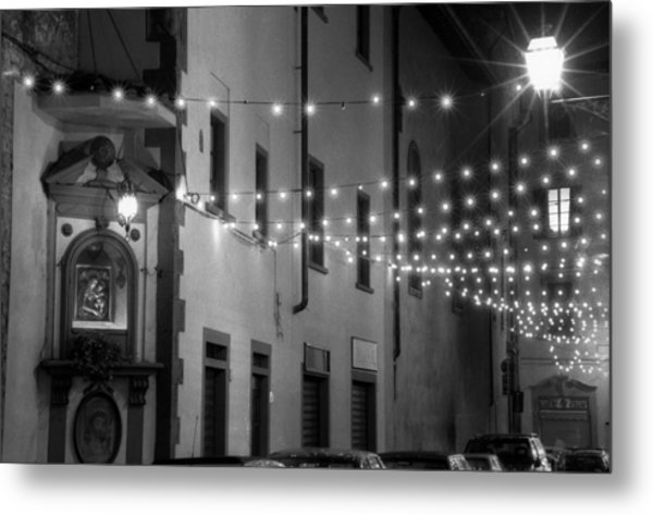 Mother Lights Metal Print by Visual Stenographer