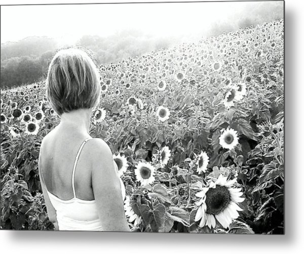 Mother Nature Metal Print by Dawn Vagts