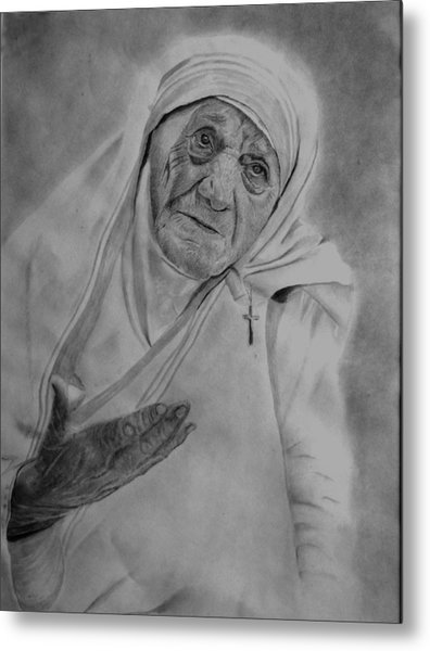 Mother Theresa 2 Metal Print