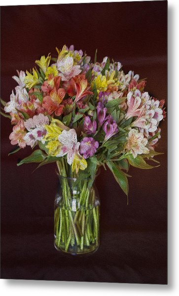 Mother's Day Bouquet Metal Print