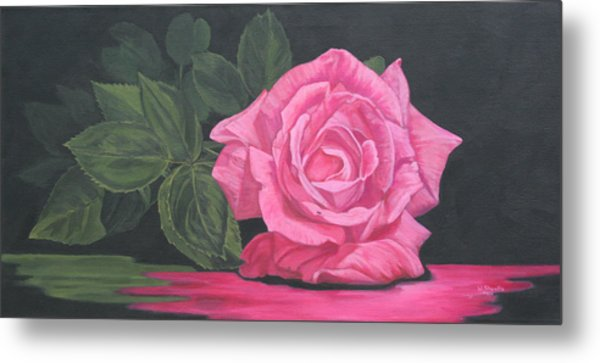 Mothers Day Rose Metal Print