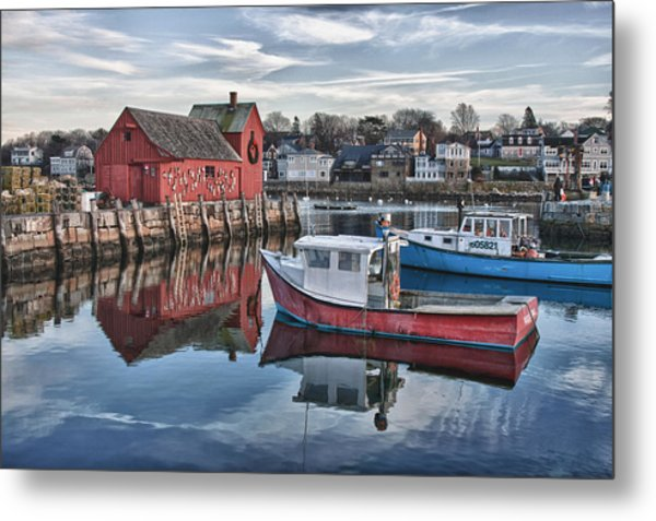 Motif 1 Sky Reflections Metal Print
