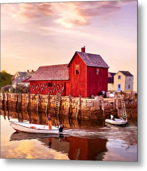 Motif Number One Rockport Massachusetts  Metal Print