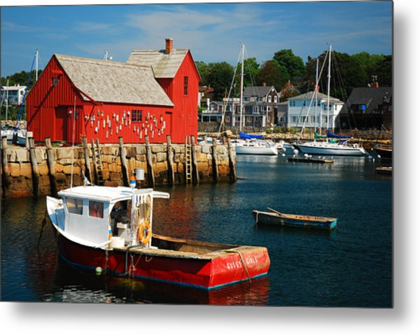 Motiff 1 In Rockport Metal Print