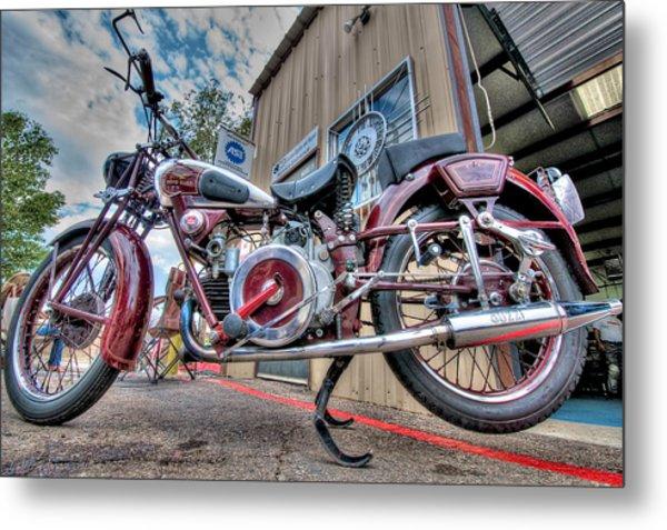 Moto Guzzi Classic Metal Print
