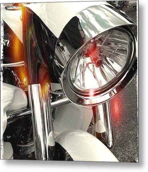 #motorcycle #motorcycles Metal Print