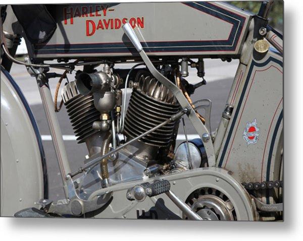 Motorcycle Vii  Metal Print