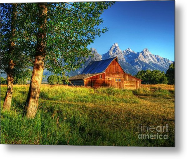 Metal Print featuring the photograph Moulton's Barn 3 by Mel Steinhauer