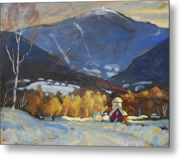 Mount Greylock From Williamstown Metal Print