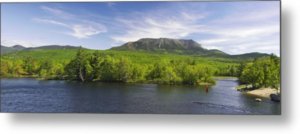 Mount Katahdin And The West Branch  Metal Print