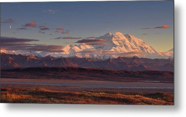 Mount Mckinley - Denali National Park Metal Print