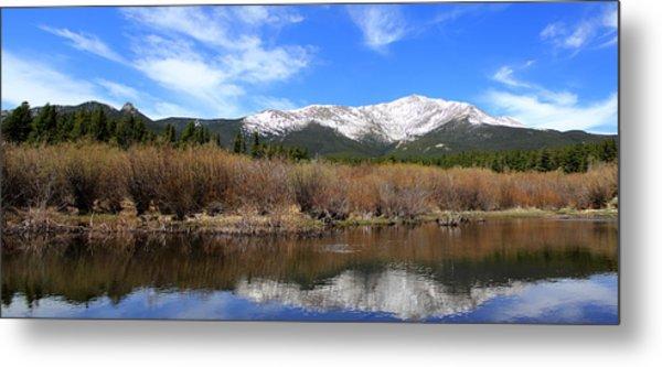 Mount Meeker - Panorama Metal Print
