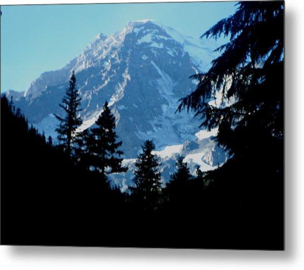 Mount Rainier 14 Metal Print by Kathy Long