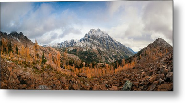 Mount Stuart Panorama Metal Print