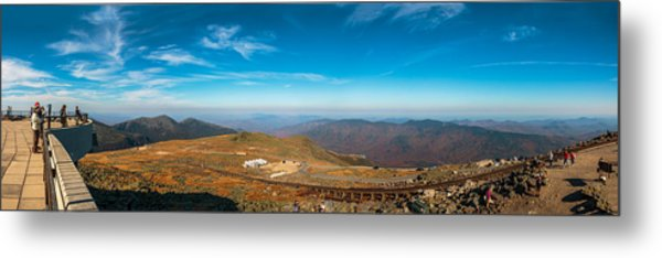 Mount Washington Observatory Metal Print by Andre Albert