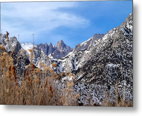 Mount Whitney - California Metal Print