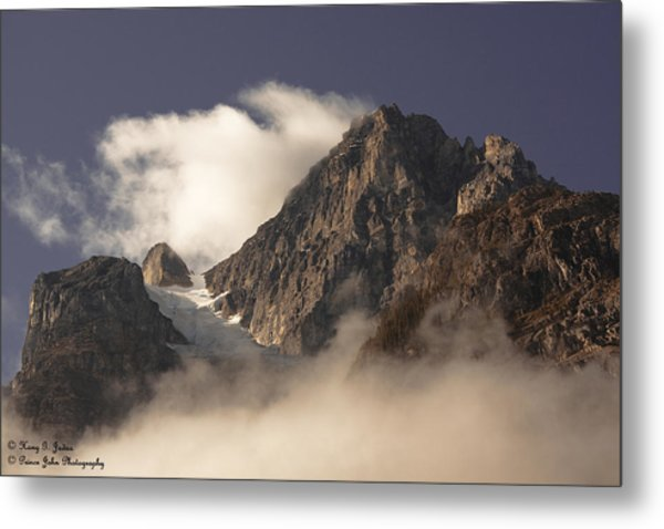 Mountain Clouds Metal Print