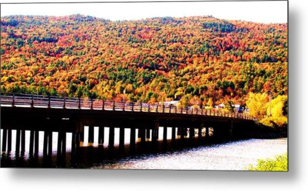 Mountain Foliage Series 071 Metal Print