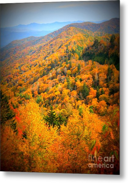 Mountain Glory Metal Print