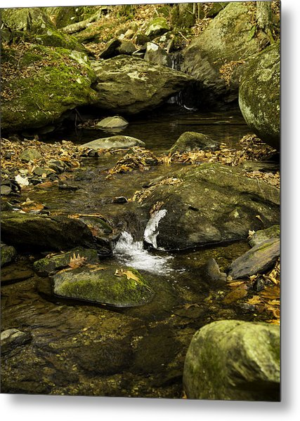 Mountain Pools Metal Print