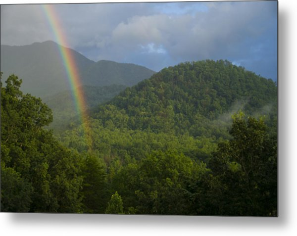 Mountain Rainbow 2 Metal Print