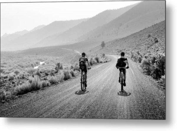 Mountain Riders Metal Print