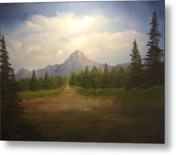 Mountain Run Road  Metal Print