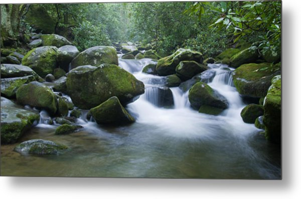 Mountain Stream 2 Metal Print