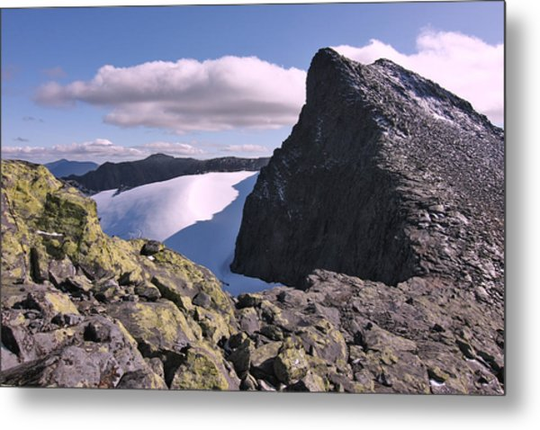 Mountain Summit Ridge Metal Print