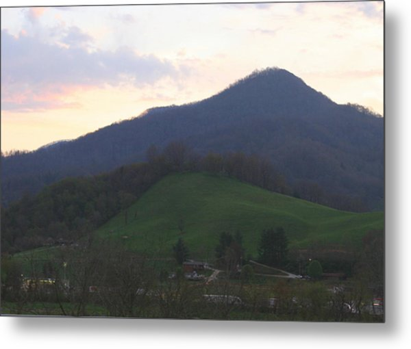 Mountain Sunset Eleven Metal Print