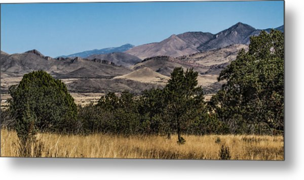 Mountain Vista Metal Print