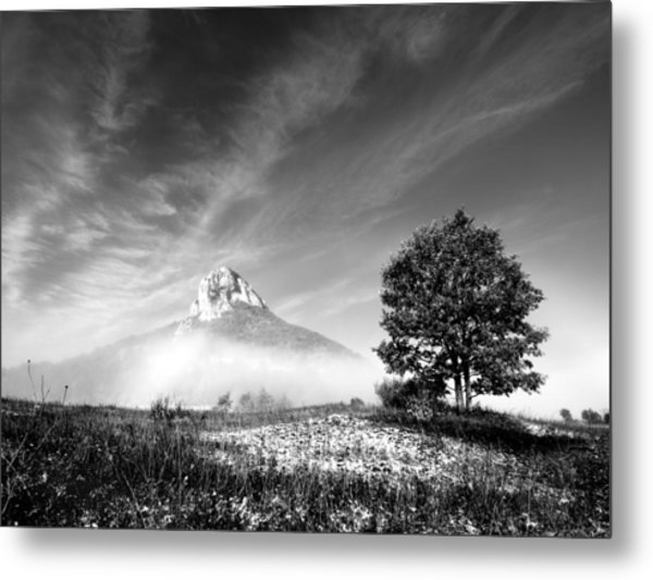 Mountain Zir Metal Print