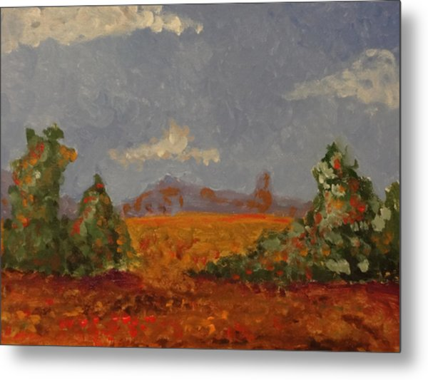 Mountains In The Distance 1 Metal Print by Paul Benson